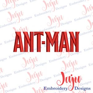 Ant Man Logo Embroidery Design