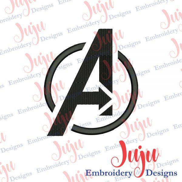 Avengers Logo Embroidery Design