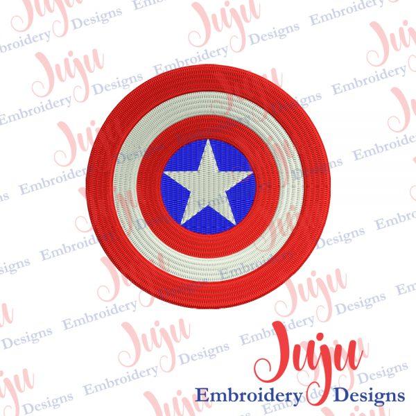 Captain America Shield Embroidery