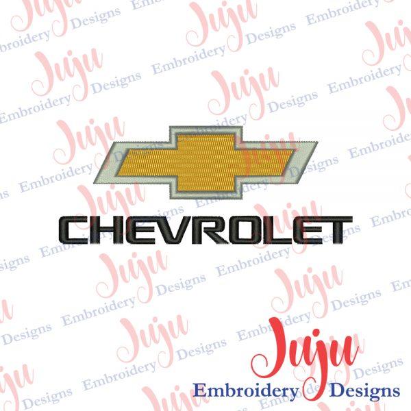Chevrolet Logo Embroidery Design