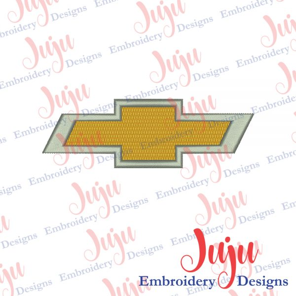 Chevy Embroidery Design