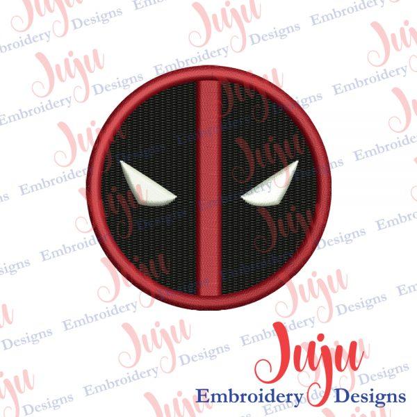 Deadpool Logo Embroidery Design
