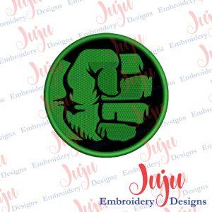 Hulk Logo Applique Design