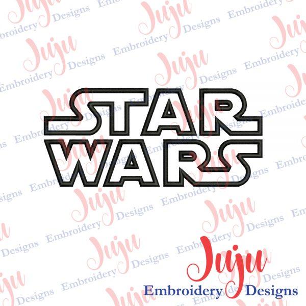 Star Wars Applique Machine Embroidery