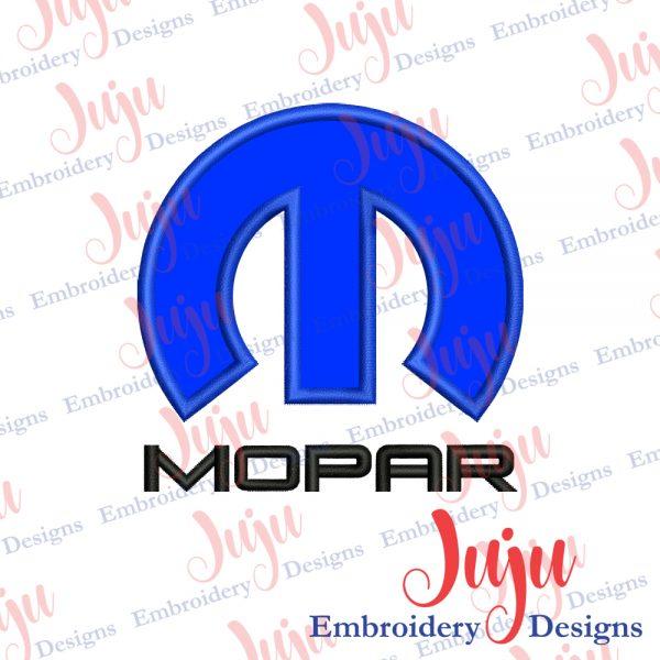 Mopar Logo Applique Design