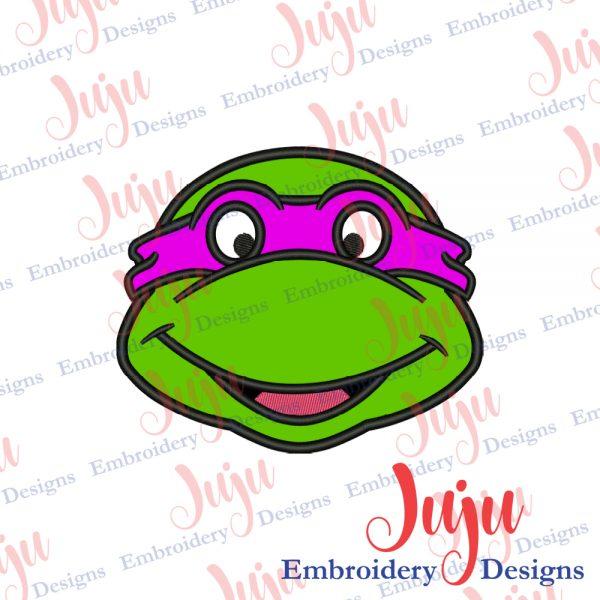 Ninja Turtle Applique Design