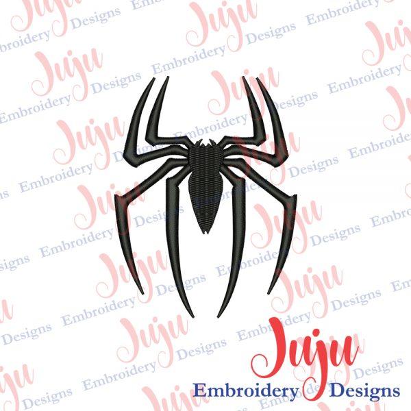 Spiderman Spider Logo Embroidery Design