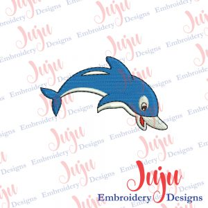 Dolphin Embroidery Designs