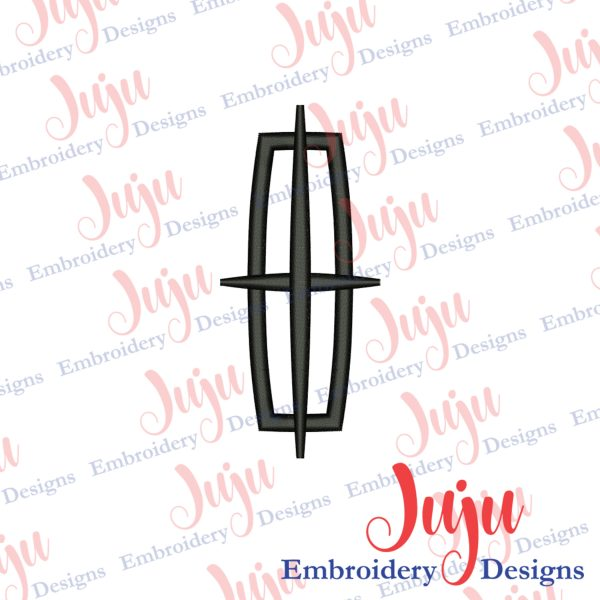 Lincoln Logo Embroidery Design